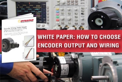 How to Choose Encoder Output and Wiring White Paper